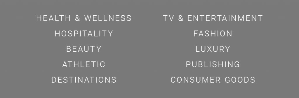 wellness, beauty, athletic, sports marketing, cpg, traditional advertising