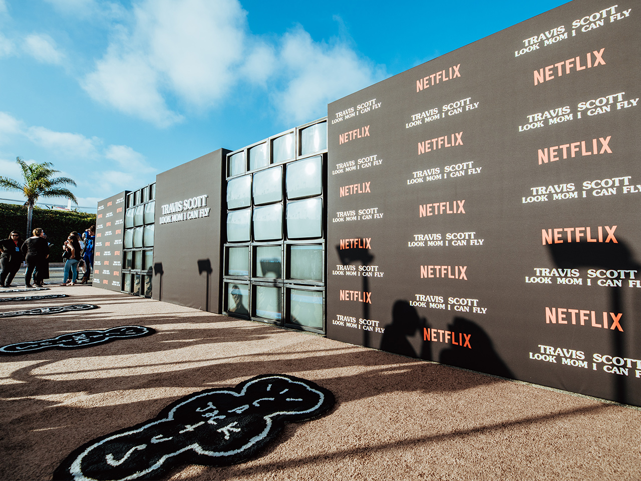 Travis Scott Premiere Netflix AgenC Experiential