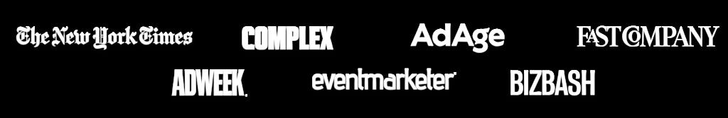 Agenc Adage Adweek Fast Company Bizbash Event Marketer